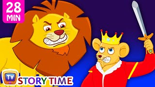 Download Lion & The Mouse | Plus Many More Bedtime Stories For Kids in English | ChuChu TV Storytime Video