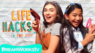 Download Travel Hacks + A Sunny Goodbye | LIFE HACKS FOR KIDS Video