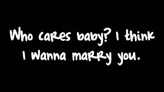Download Bruno Mars - Marry You (Lyrics) HD Video