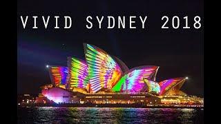 Download Vivid Sydney 2018 Light Show - Sydney Opera House, Harbour Bridge, Customs House, MCA & More Video