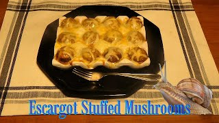 Download Escargot stuffed Mushrooms Video