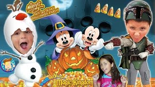 Download Trick or Treating in DISNEY WORLD! Mickey's Not So Scary Halloween Party 2015 (FUNnel Vision Trip) Video