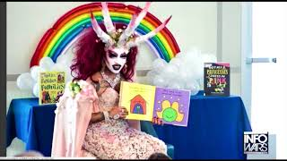 Download Alex Jones Fakes Freak Out About Drag Queens Volunteering To Read To Kids Video