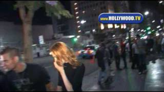 Download Shane West And Evan Rachel Wood Leave Bardot. Video