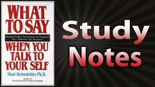Download What To Say When You Talk To Yourself by Shad Helmstetter Video