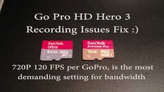 Download GoPro HD Hero 3 Black Edition Intermittently stops recording fix Video