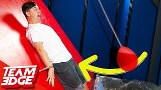 Download Don't Let the Giant Water Balloon Hit You Below the Belt! Video