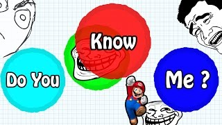 Download AGARIO TROLLING IN TEAMMODE // ″DO YOU KNOW ME?″ // BEST Agar.io TROLL EVER Video