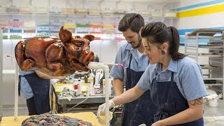 Download Neon Museum and Roast Pig Cake Video