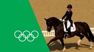 Download Charlotte Dujardin's Emotional Olympic Gold | Olympic Rewind Video