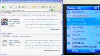 Download Free Mobile Internet (no data plan) To Read internet News with any mobile phone Video