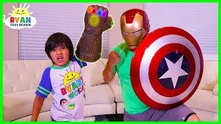 Download Ryan found Thanos Infinity Gauntlet!!! Video