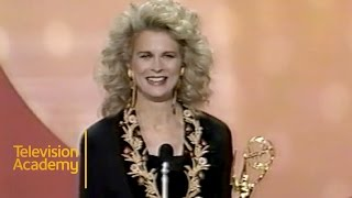 Download Candice Bergen Wins Outstanding Lead Actress in a Comedy Series | Emmy Archive 1990 Video
