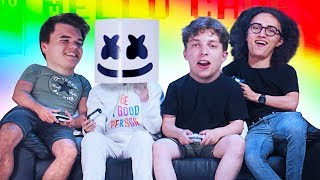 Download Playing Video Games w/ MARSHMELLO! Video
