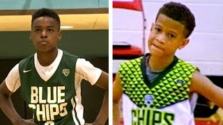 Download Lebron James jr vs Steph Curry jr (aka Camron Amboree) Basketball Highlights Mix Video
