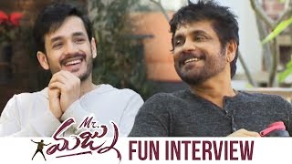 Download Akkineni Nagarjuna and Akhil Special Interview About Mr Majnu | Manastars Video