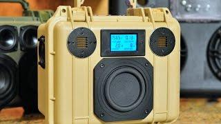 Download DIY Pelican 1300 Bluetooth BoomBox 2.1: 200W & 36,000mAhr! Video