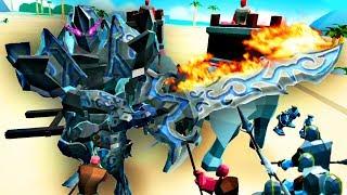 Download 【屌德斯解说】 史诗战争模拟器2 新的史诗英雄铠甲勇士巨人登场横扫千军 Video