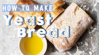 Download How To Make Yeast Bread Video