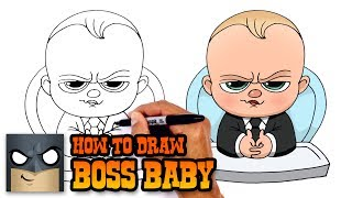 Download How to Draw Boss Baby   Drawing Tutorial Video