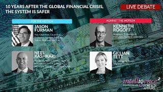 Download LIVE DEBATE – Ten Years After the Global Financial Crisis, the System Is Safer Video