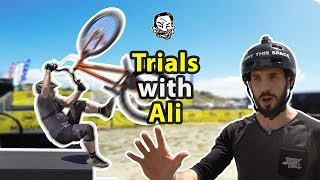 Download MTB Trials with Ali Clarkson Video