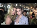 Download Barbara Palvin and Stella Maxwell leave the Jeremy Scott Fashion Show Video