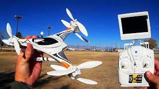 Download Cheerson CX-33S FPV Drone Flight Test Review Video