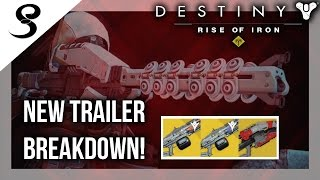 Download Destiny Rise of Iron - NEW EXOTICS! Year 3 IceBreaker! NEW TRAILER! (The Dawning) Video