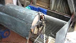 Download Masina de batut porumb - Home made corn decobbing machine Video