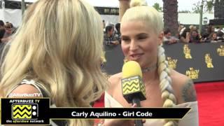 Download 2017 MTV Movie & TV Awards | Carly Aquilino Video