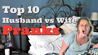 Download TOP 10 HUSBAND VS WIFE PRANKS OF 2017 - Pranksters in Love Video