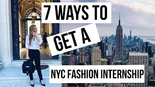 Download NYC FASHION INTERNSHIP 101 | MY TIPS + EXPERIENCE | HOW TO LAND YOUR DREAM JOB |MAKE YOUR MARK Video