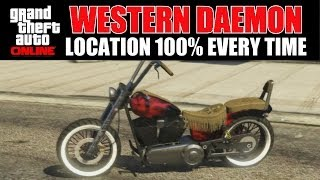 Download GTA Online - Where to find a Western Daemon 100% Every Time After patch 1.15 Video