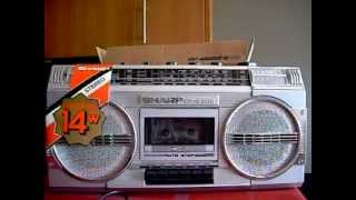 Download Unboxing Sharp GF-4500 Radio Cassette Boombox 80's Video