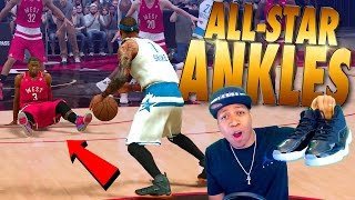 Download BROKE Some ALL-STAR Ankles / Kicks Of The Month - NBA 2K17 MyCareer Video
