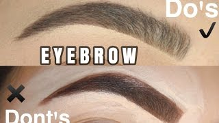 Download EYEBROW HACKS: Do's and Don'ts Video