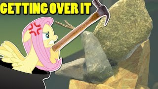 Download Fluttershy plays Getting Over It | HOW BEAUTIFUL THIS IS 🍉 Video