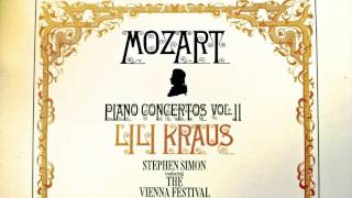 Download Mozart - Piano Concertos No.11,12,13,14,17,18,19 (recording of the Century : Lili Kraus/Simon) Video