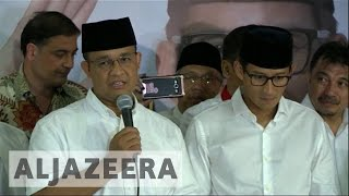 Download Indonesia: Anies Baswedan claims victory in Jakarta election Video