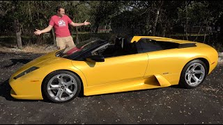 Download The Lamborghini Murcielago Roadster Is the Last Old-School Lambo Video