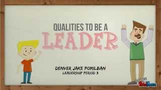 Download Qualities To Be A Leader Video