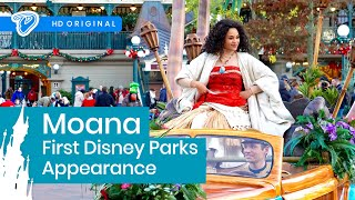 Download Moana First Disney Parks Appearance - Disneyland Paris Welcome Parade 18th November 2016 Vaiana Video