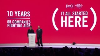 Download Davos 2016 - Special 10th Anniversary Celebration of the RED Campaign Video