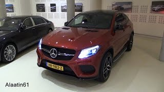 Download 2017 Mercedes-Benz GLE Class: GLE 450 AMG Coupe Start Up / Exhaust / In Depth Review Video