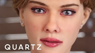 Download An ″anatomically correct″ Scarlett Johansson robot Video
