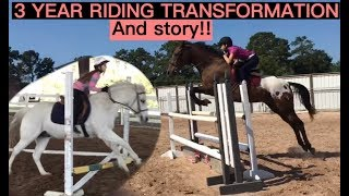 Download DRASTIC 3 YEAR RIDING TRANSFORMATION!! :o Video