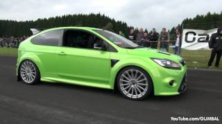 Download 430HP Ford Focus RS Wolf Racing - Acceleration with Backfiring Sound! Video