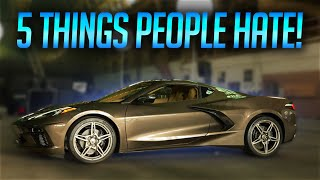 Download 5 Things People HATE About The 2020 Corvette C8! Video