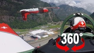 Download Gotthard Tunnel Opening I Air Show I Cockpit view Video
